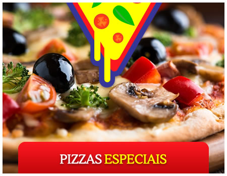 Pizzas Especiais - Altas Horas Pizzaria